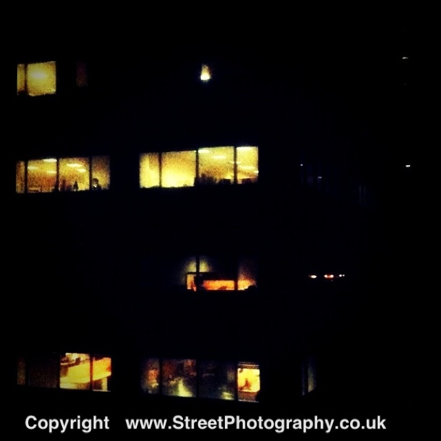 Its 11.15pm on the 14th Floor