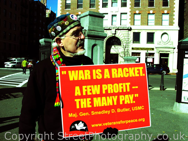 War Is A Racket! Street Photography is NOT!