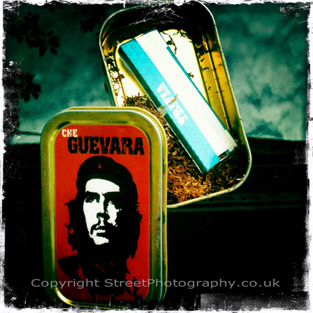 From #Che #guevara series! did he ever think he'd end up on #Tobacco boxes!!?? #Revolution